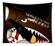 Curtiss P-40n Warhawk Tapestry