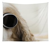 Dog With Sunglasses Tapestry