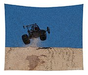 Dune Buggy Jump Tapestry