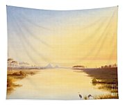 Egyptian Oasis Tapestry