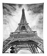 Eiffel Tower Paris France Tapestry