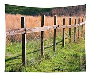 Fence Perspective Tapestry