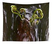 Ferns In A Stream Tapestry