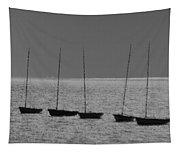 Fishing Boats Art Tapestry