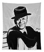 Frank In Black And White Tapestry
