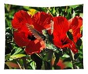 Hibiscus Heaven Tapestry
