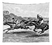 Horse Racing, 1900 Tapestry