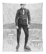 Ice Skater, 1880 Tapestry