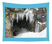 Icicle Falling Tapestry
