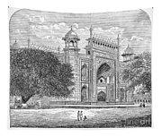 India: Taj Mahal Tapestry