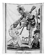 Iroquois Warrior Tapestry