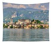 Island San Giulio Tapestry