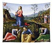 Jesus: Agony In The Garden Tapestry