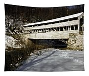 Knox Covered Bridge Tapestry