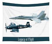 Legacy Of Flight Tapestry