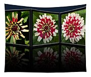 Life Of A Zinnia Tapestry