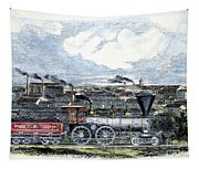 Locomotive Factory, C1855 Tapestry