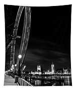 London Eye And London View Tapestry