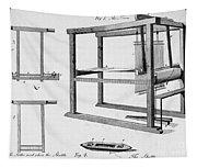 Loom: Fly Shuttle, 1733 Tapestry