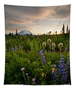 Lupine Sunset Tapestry