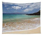 Makena Ocean And Sand Tapestry