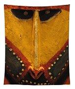 Maori Mask New Zealand Tapestry