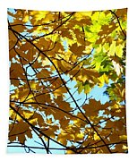 Maple Leaf Canopy Tapestry