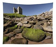 Minard Castle And Rocky Beach Minard Tapestry