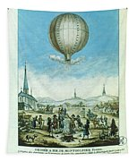 Montgolfier Balloon Tapestry