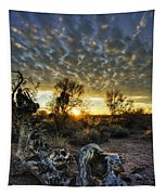 Morning Calling  Tapestry