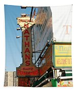 Nathan's Famous At Coney Island  Tapestry