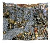 New World: Voyage, 1592 Tapestry