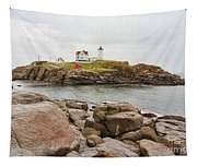 Nubble Lighthouse Tapestry