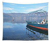 Old Fishing Boat Tapestry