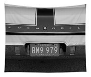 Olds Cs In Black And White Tapestry