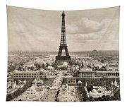 Paris: Eiffel Tower, 1900 Tapestry