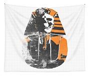 Pharaoh Stencil  Tapestry