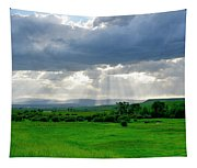 Rain Sun Rays Tapestry