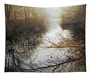 River In The Fog Tapestry