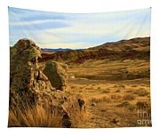 Rocky Painted Hills Tapestry