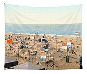 Sand Castles, C1895 Tapestry