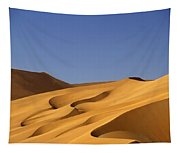 Sand Dune Against Clear Sky Tapestry