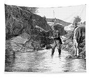 Scotland: Fishing, 1880 Tapestry