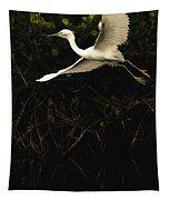 Snowy Egret, Florida Tapestry