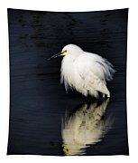 Snowy Egret  Tapestry