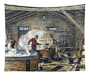 Soap Manufacture, C1870 Tapestry