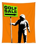 Space Golf Sale Tapestry