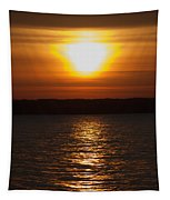 Sunrise On Seneca Lake Tapestry
