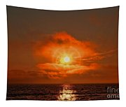 Sunset Over The Pacific Tapestry