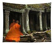 Ta Prohm Cambodia Tapestry